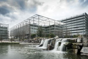 Nice bit of waterfall action in Chiswick Park
